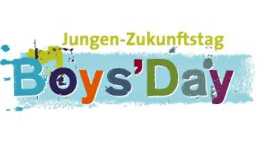 Logo zum Boys'Day, dem Jungen-Zukunftstag