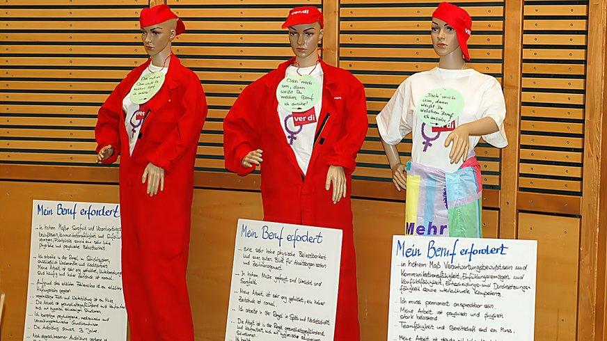 Aufwertung Frauenberufe Aktion