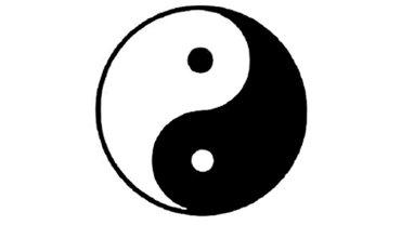 Yin Yang Zeichen
