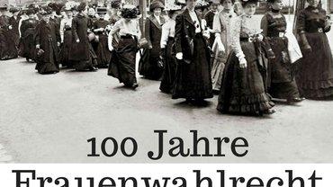 Seminar (16.-17.03.2019) Kirkel, 100 Jahre Frauenwahlrecht