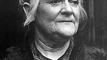 Porträt von Clara Zetkin