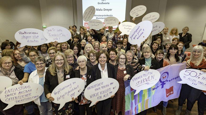 Grußworte Malu Dreyer zur Landesbezirksfrauenkonferenz 2019