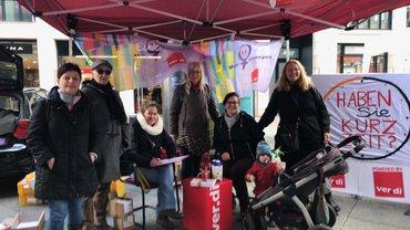 Internationaler Frauentag in Saarbrücken