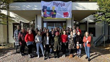 Teilnehmerinnen beim RONJA-Boxenstopp im Oktober 2021